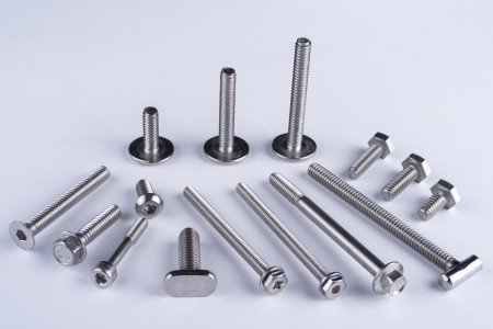 Machine Screws - Hex head, Hex washer head, countersunk, round head, pan head machine screws.