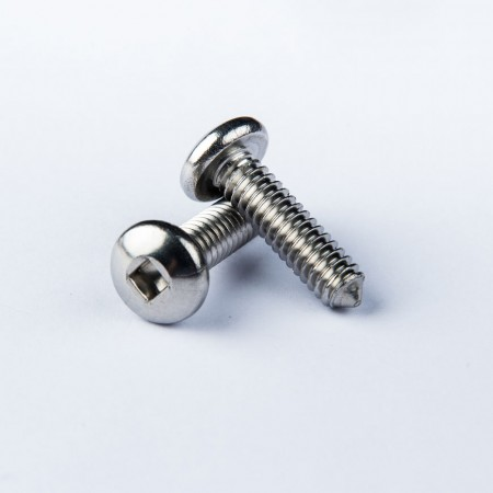 Pen Head Machine Screw w/ Sharp Point - Pen Head Square Recess Machine Screw w/ sharp point
