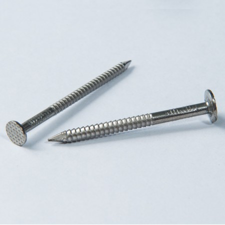 Flat Head Nail Screw - Flat Head Pointed Nail