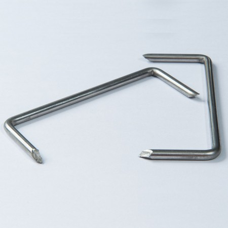 Stainless Steel Staple - Stainless Steel Stift, M-Shape