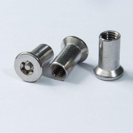 Nut - Flat Head Torx Drive PIN Tapping Nut