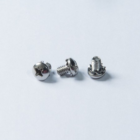 Pan Head Screw - Pan Head & Rolling Serration Washer