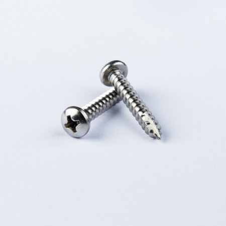 Pan Head Phillips Tapping - Pan Head Phillips Rec Screw w/ Tapping Type A & Thread Cutting Type 17