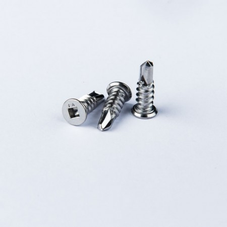 Flat Head Square Drive Drilling Screw - Flat Head Square Drive Drilling Screw