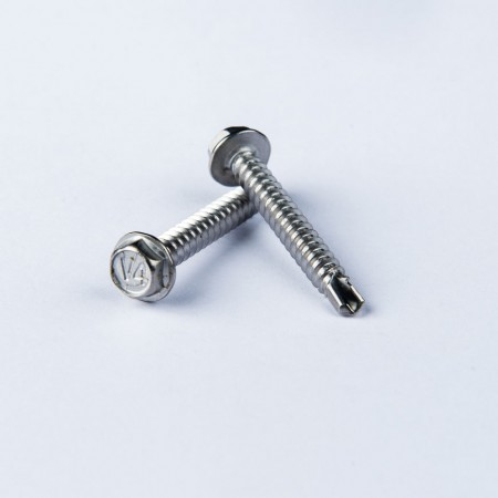 Chamfered Hex Washer Head Drilling Screw - Chamfered Hex Washer Head Drilling Screw