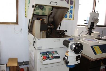 Metalografik hassas kesme makinası