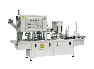 Pagpuno at Pag-sealing Machine - Soy Milk Filling at Sealing Machine