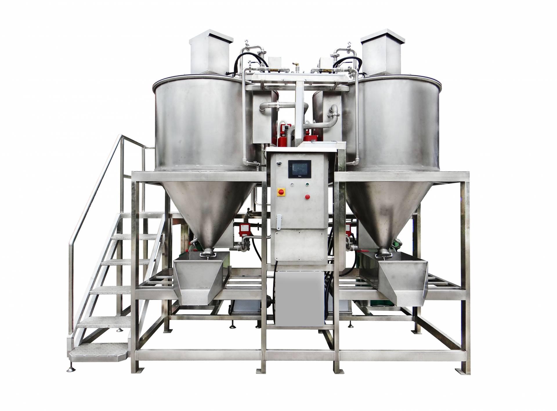 Sistema di lavaggio e sterilizzazione del fagiolo - Macchina per lavaggio e sterilizzazione fagioli