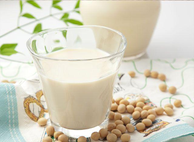 Čerstvé sójové mlieko