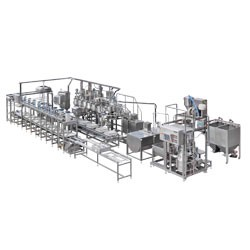 Anpassad Tofu-produktionslinje - spara arbetskostnader och producera tid