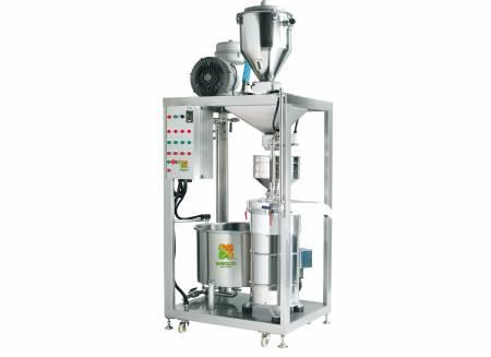 Grinding & Okara Separating & Cooking Machine - Automatic Soybean Grinding And Okara Separating And Cooking Machine