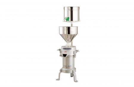 Soybean Rice Grinding Machine - Soybean rice grinder(FE-06) was applicable for family festivals and small vendors (in the markets)supermarkets, tofu shops, soy milk Shops. Its production capacity is about 30 - 70 Kgs / per hour.