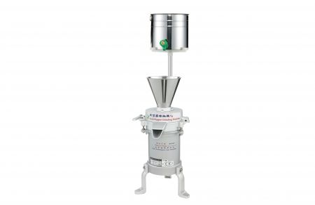 Chili Grinding Machine - Chili paste grinder was suitable for the grinding work of chili, Garlic, nutmeg, ginger, nutmeg and other spices.