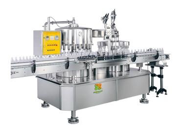 Автоматична машина за пълнене и формоване на капачки - Автоматична машина за пълнене на соево мляко и фолио