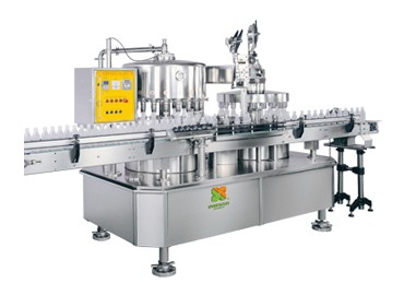 Automaic Filling & Folie Cap Forming Machine