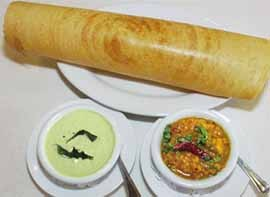 Indian Food - Indian Food - Dosa