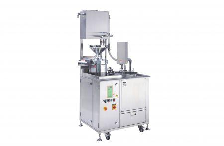 Máquina de leche de soja integrada - La máquina de leche de soja integrada fue diseñada con una máquina de molienda, separación y cocción de soja.