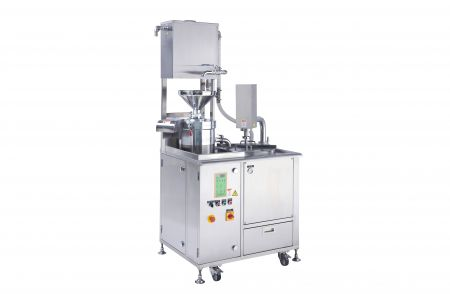 Integrated Soy Milk Machine - Integrated soy milk Machine was designed with soybean grinding, separating and cooking machine.