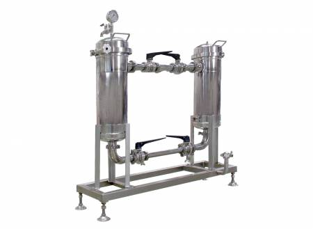 Soy Milk Twin Filter Machine