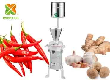 Wet Masala Grinder - Wet Masala Grinder (FP-05) was suitable for the grinding work of chili, Garlic, nutmeg, ginger, nutmeg and other spices.