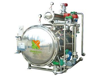 Yüksek Basınçlı Sterilizatör Makinesi