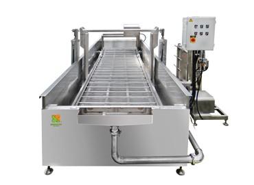 Автоматичен. Тофу охлаждаща конвейерна машина - Автоматична конвейерна машина за охлаждане на тофу