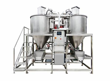 Bean Washing and Sterilizing System - Bønne vask- og steriliseringsmaskine