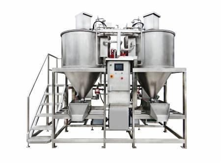 Автоматичен.  Машина за измиване и стерилизиране на зърна