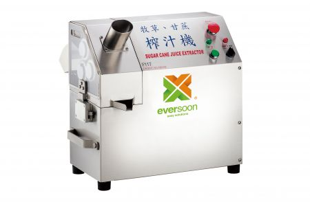 Herbage & Sugar Cane Juice Machine - Sugar Cane Juice extractor including fixed feeding inlets, safety buckles and covers, it can prevent any accidents from occurring during using it.