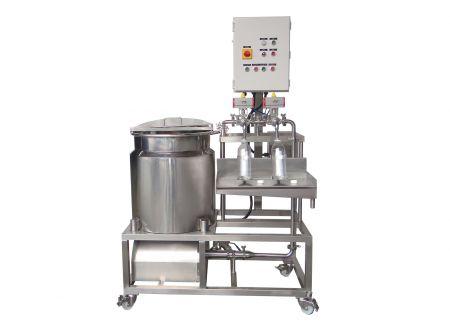Soy Milk Filling Machine - Semi-Automatic Soy Milk Filling Machine, Soy Beverages Filling Machine