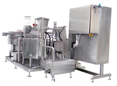 Soy Milk Coagulate Equipment - Soy Milk Stirring at Coagulating Machine