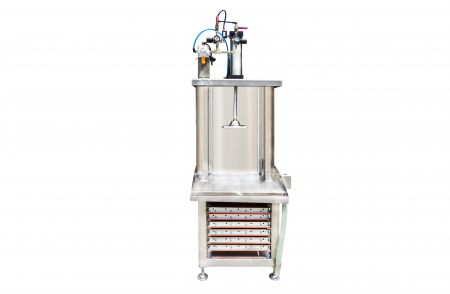 Single Presser of Tofu Pressing Machine - Single Presser of Tofu Pressing Machine is available to run with one operator only, you can easily estimate the output capacity, suitable for supermarket or for new business.