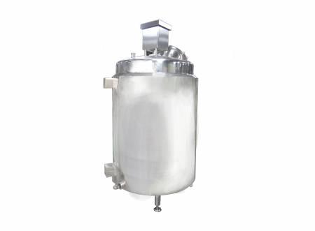 Tanque de almacenamiento de leche de soja vertical - Tanque de almacenamiento de leche de soja vertical, tanque de recolección de leche