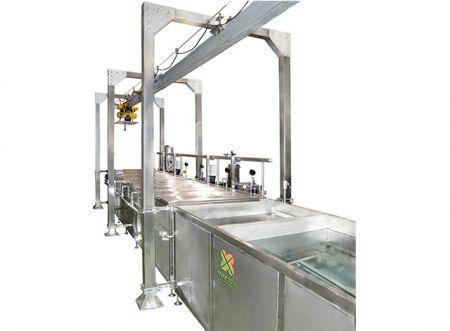 Тристепенна машина за пастьоризация - Тристепенна машина за пастьоризация