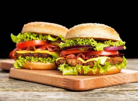 Burger tauhu