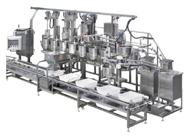 Filling to Mold and Coagulating Convey Machine