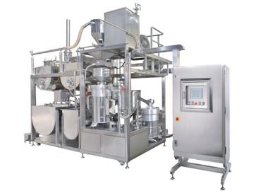 Twin Grinding & Okara Separating & Cooking Machine - Automatic Soybean Twin Grinding And Okara Separating And Cooking Machine
