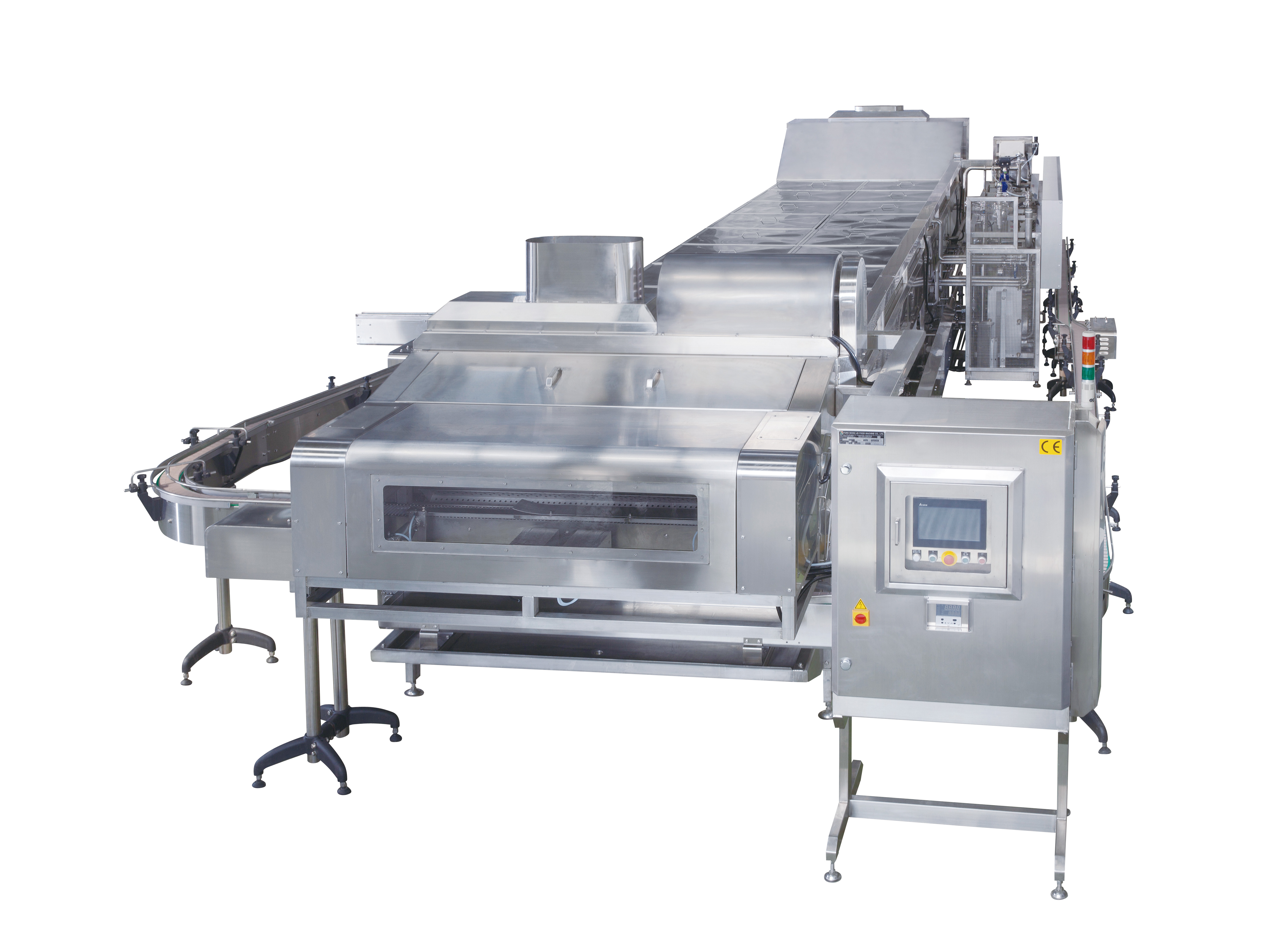 Pasteurizing and Cooling Equipment - Three-Stage Low Temperature Sterilization Machine