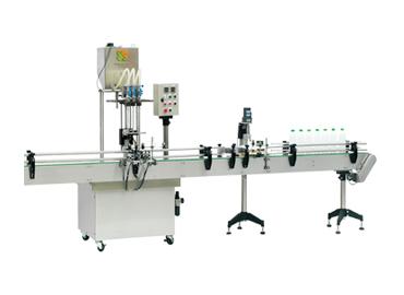 Otomatik Vidalı Kapak Makinası