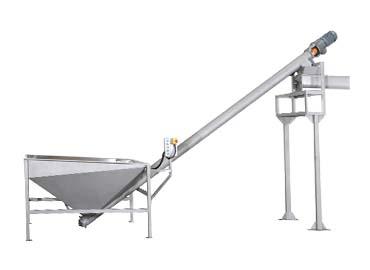 Skrutkovací stroj na sóju