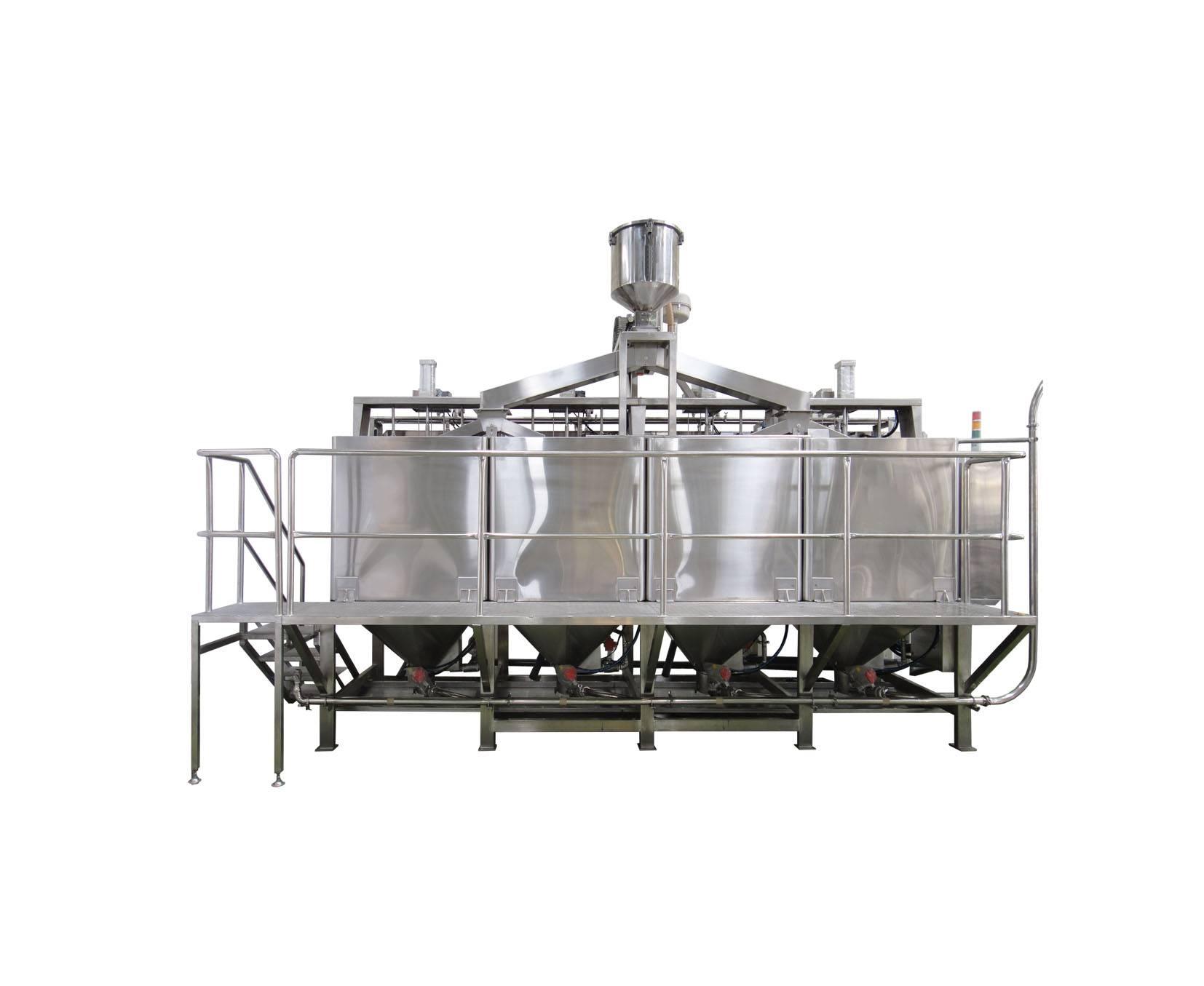 Soybean Soaking & Washing Machine