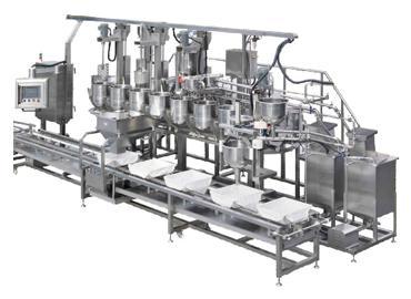Máquina de coagulación de tofu - Máquina de coagulación de moldes de llenado de tofu
