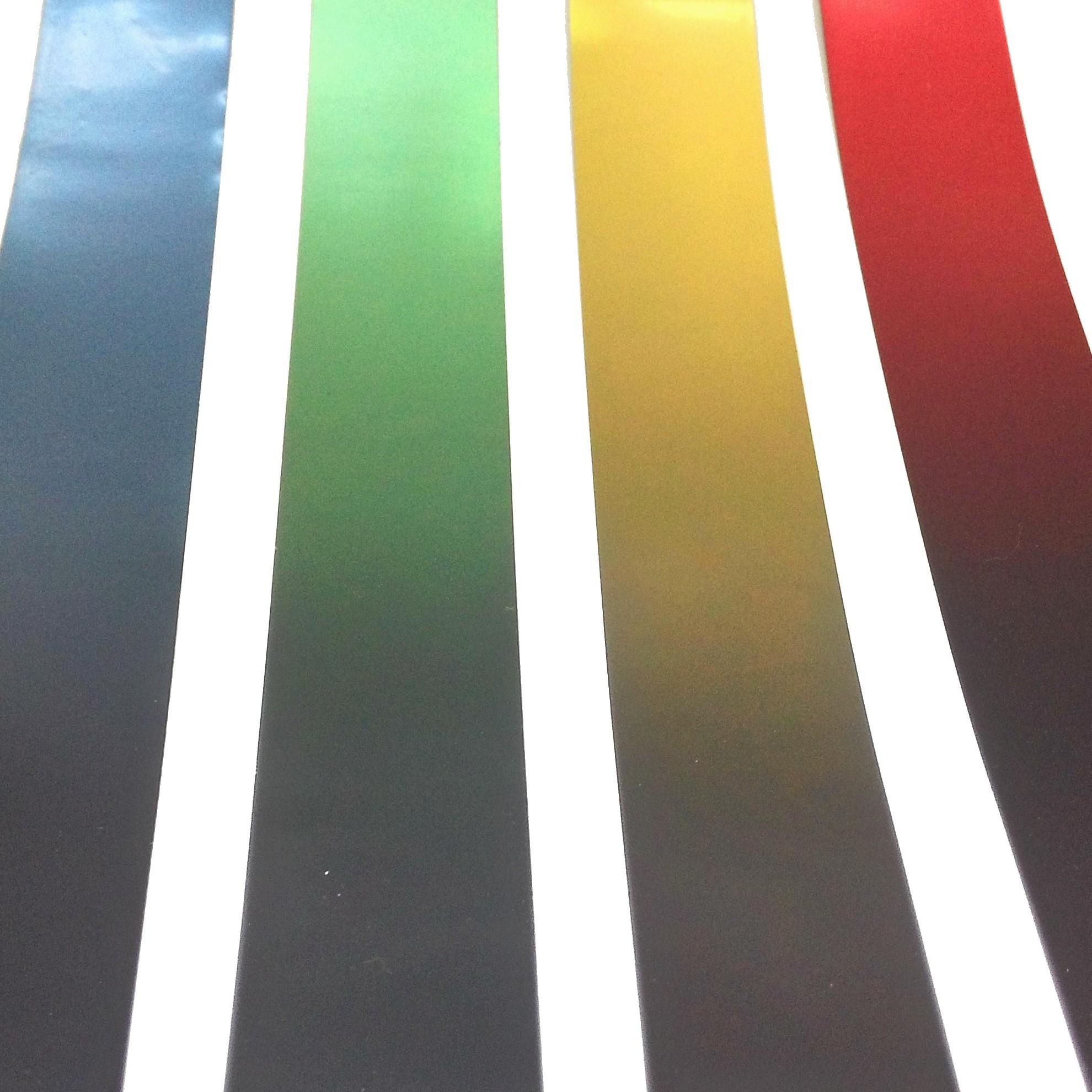 Top tint gradation sun strip window film
