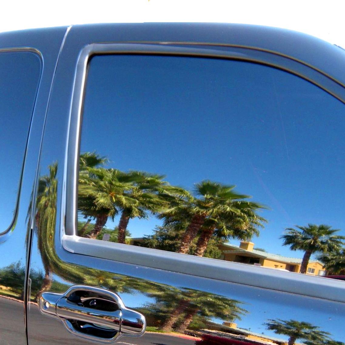 Reflective window mirrored film