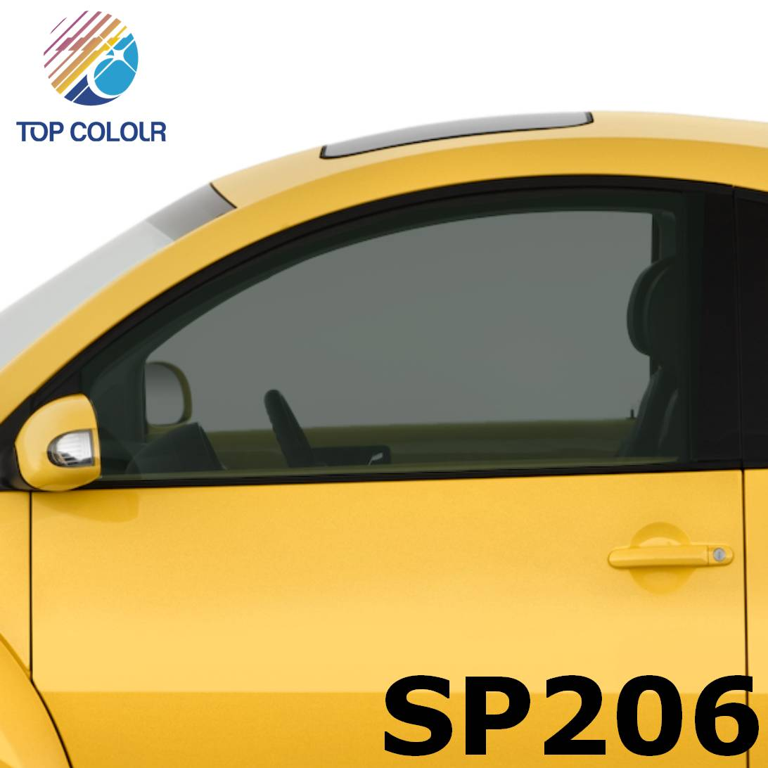 Tinted Dyed Window Privacy Film SP206 - Dyed SP206 sun control film