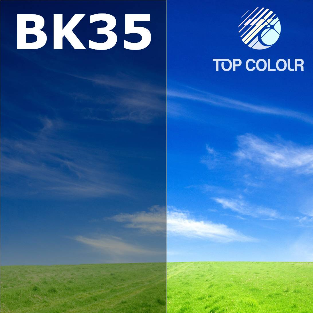 Tinted Car Window Glass Film BLACK 40% - Tinted sun control film BK35