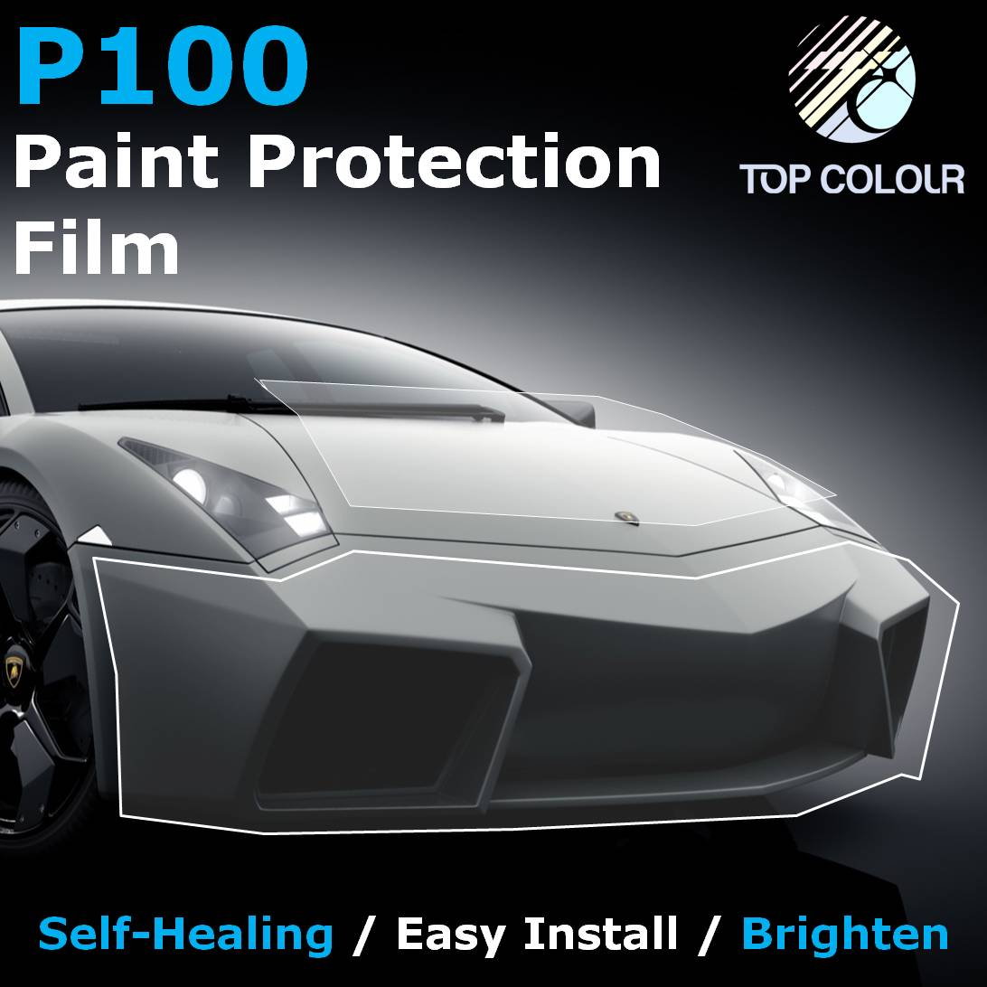 Paint Protection Film - Paint protection film (PPF) is based on high quality thermoplastic Polyurethane (TPU) film, easy to stretch and install on new or used car for protection on paint surfaces, can also be used as headlight tint. Paint protcetion film can save your money on polishing and waxing, a gentle rinse will keep your car clean.