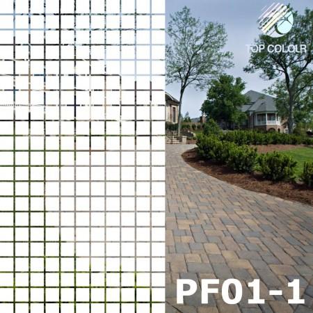 Декоративные      оконная пленка PF01-1 - Декоративные      оконная пленка PF01-1