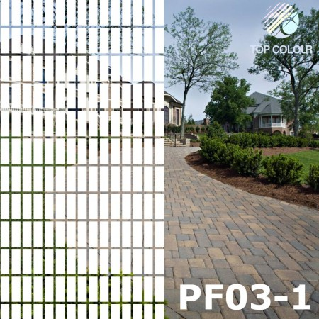 Decorative window film PF03-1