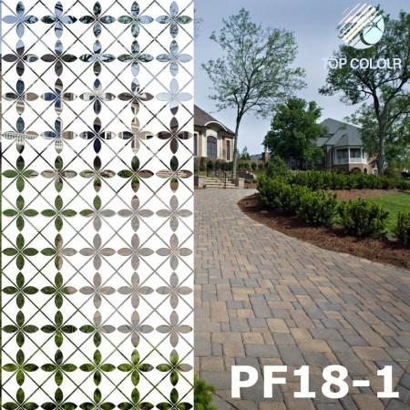 Kaca film dekoratif PF18-1 - Kaca film dekoratif PF18-1